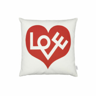 Graphic Print Pillow Love